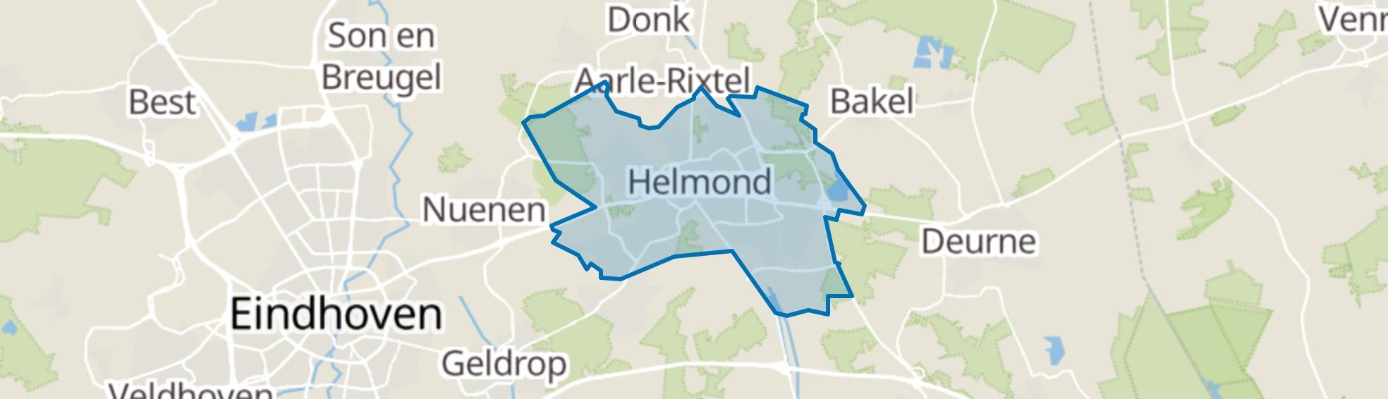 Helmond map