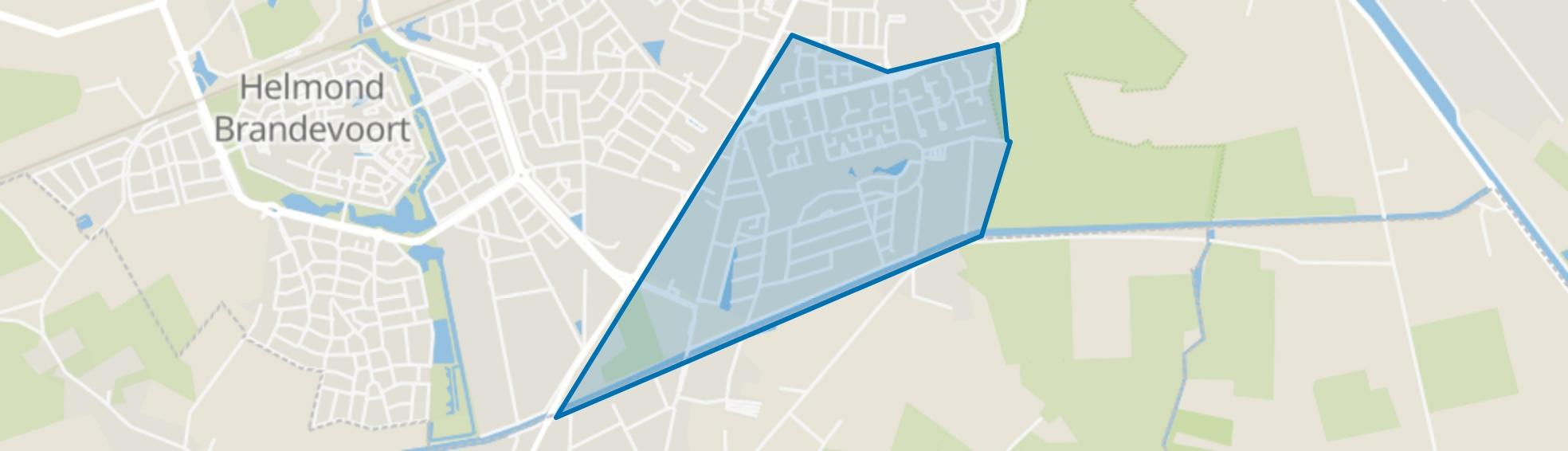 Akkers, Helmond map