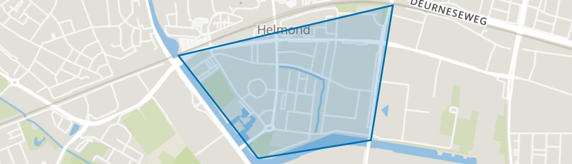 Annabuurt en Suytkade, Helmond map