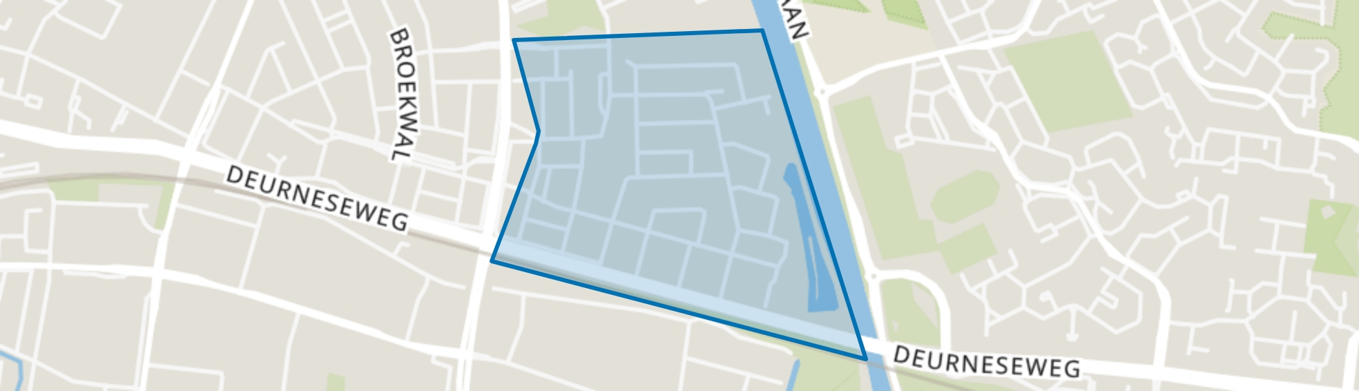 Beisterveldse Broek, Helmond map