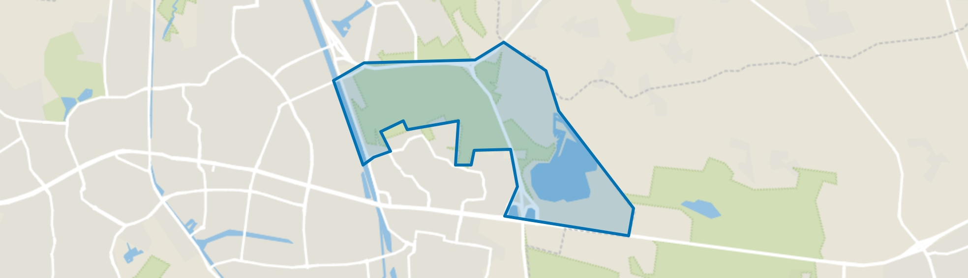 Berkendonk, Helmond map