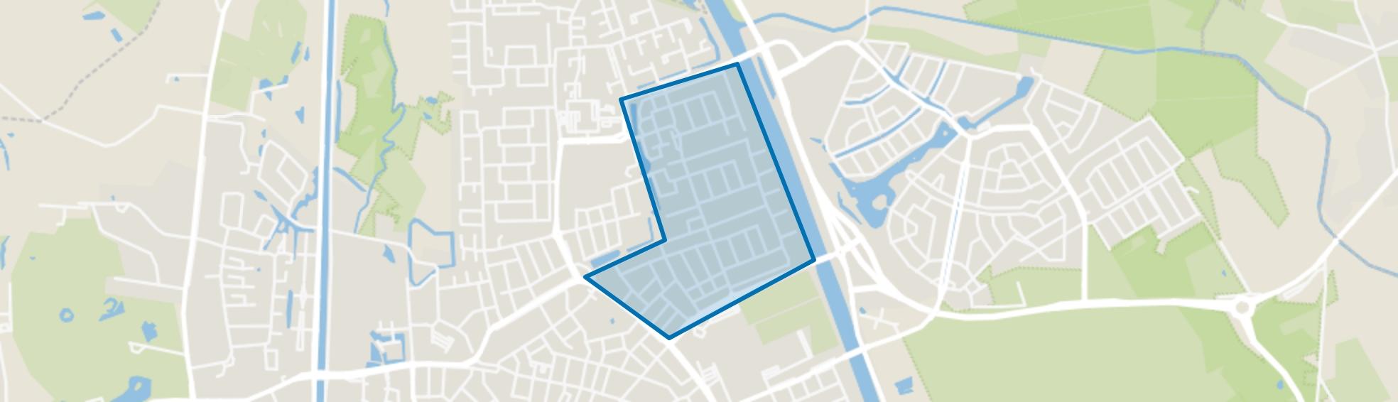 Bloemvelden, Helmond map