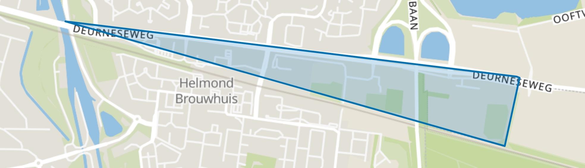 Brouwhorst, Helmond map
