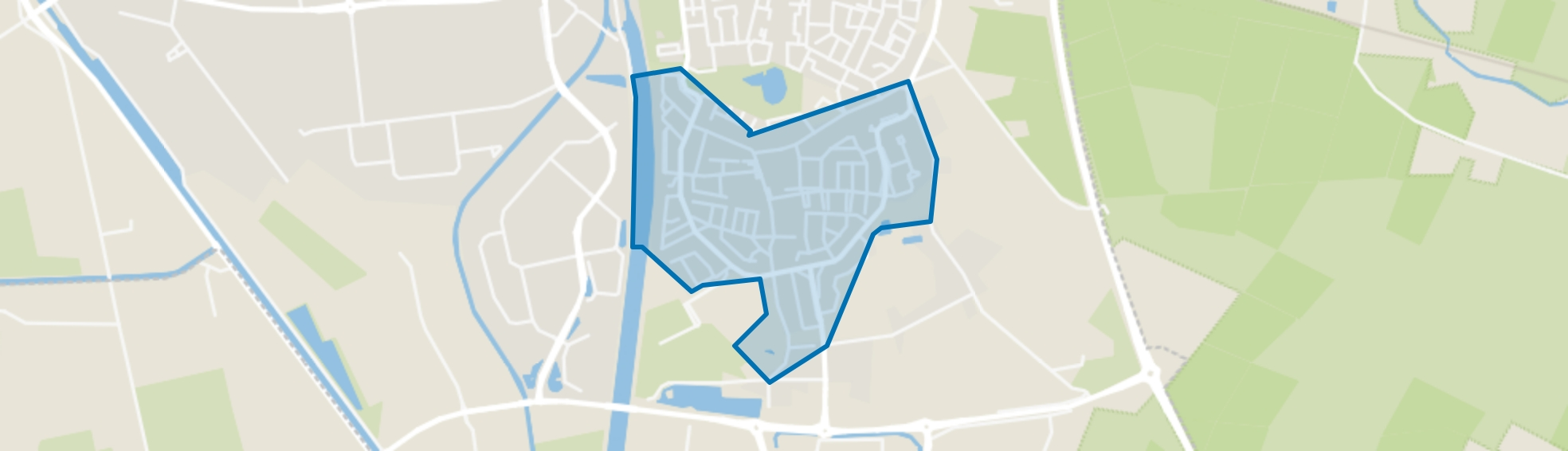 Brouwhuis-Dorp, Helmond map