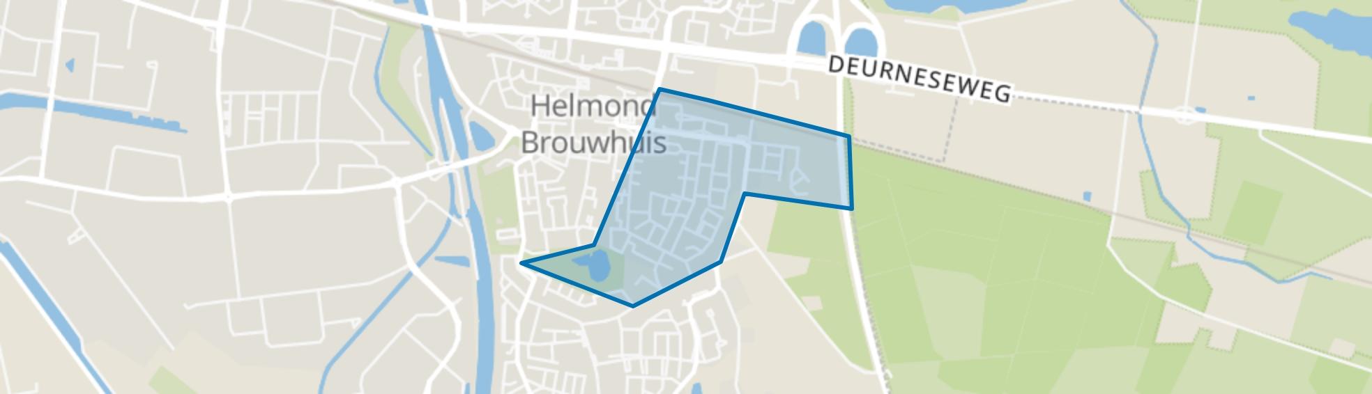 Brouwhuis-Oost, Helmond map