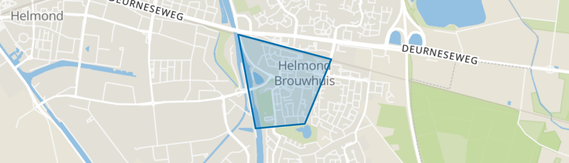 Brouwhuis-West, Helmond map