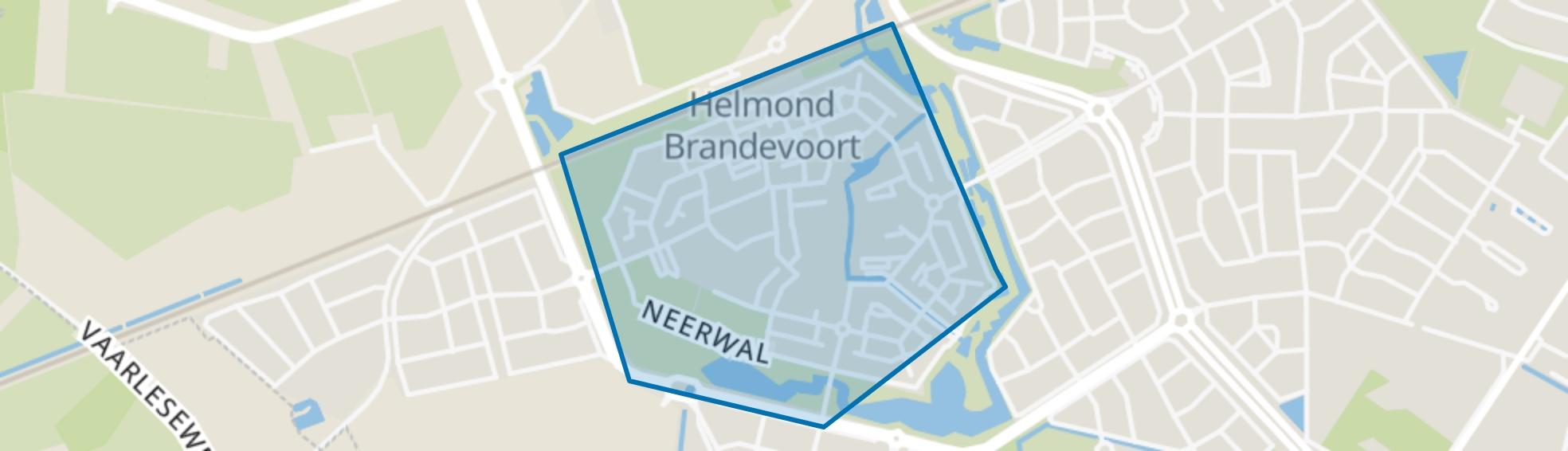 De Veste, Helmond map