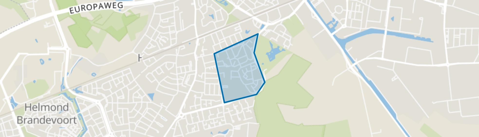 Gansenwinkel, Helmond map