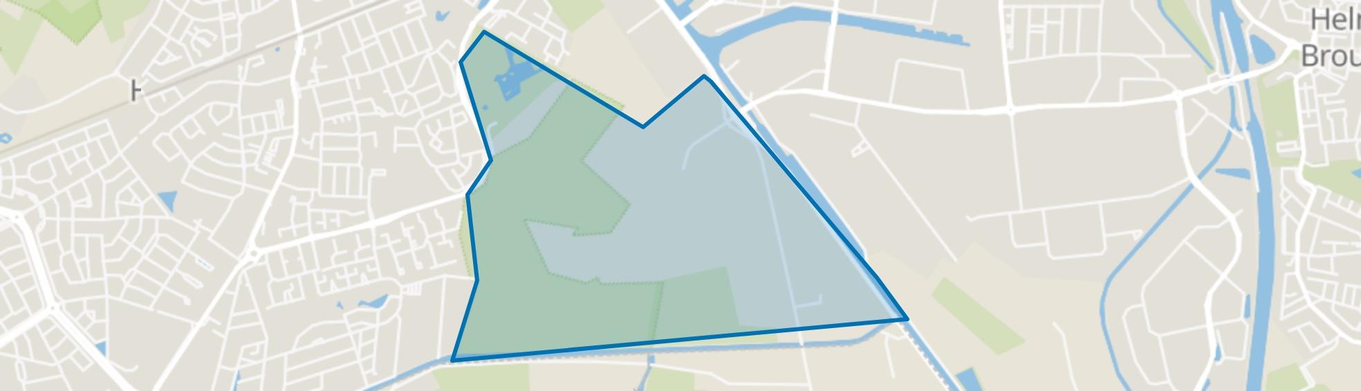 Groot Goor, Helmond map