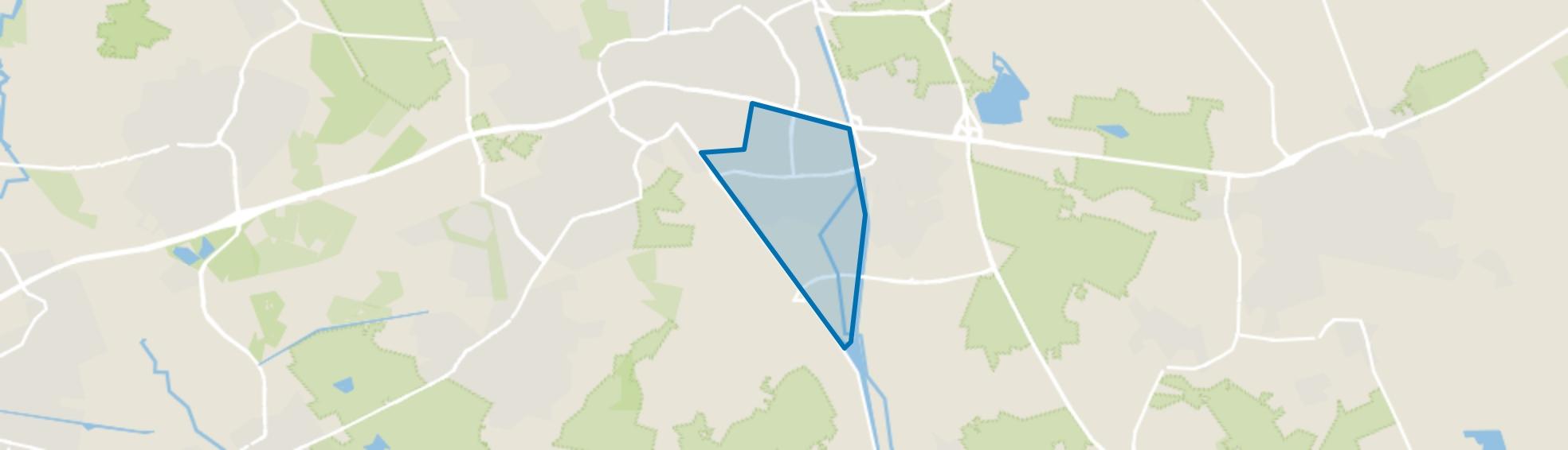 Hoogeind, Helmond map