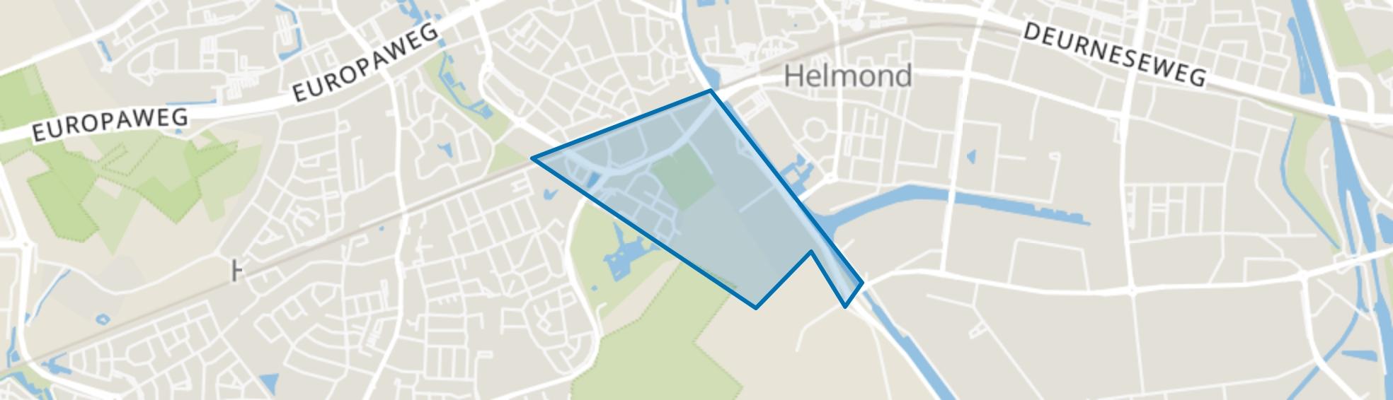 Houtsdonk, Helmond map
