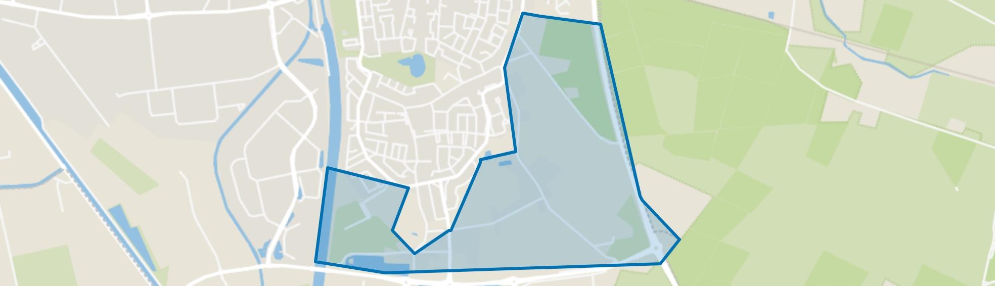 Kloostereind, Helmond map