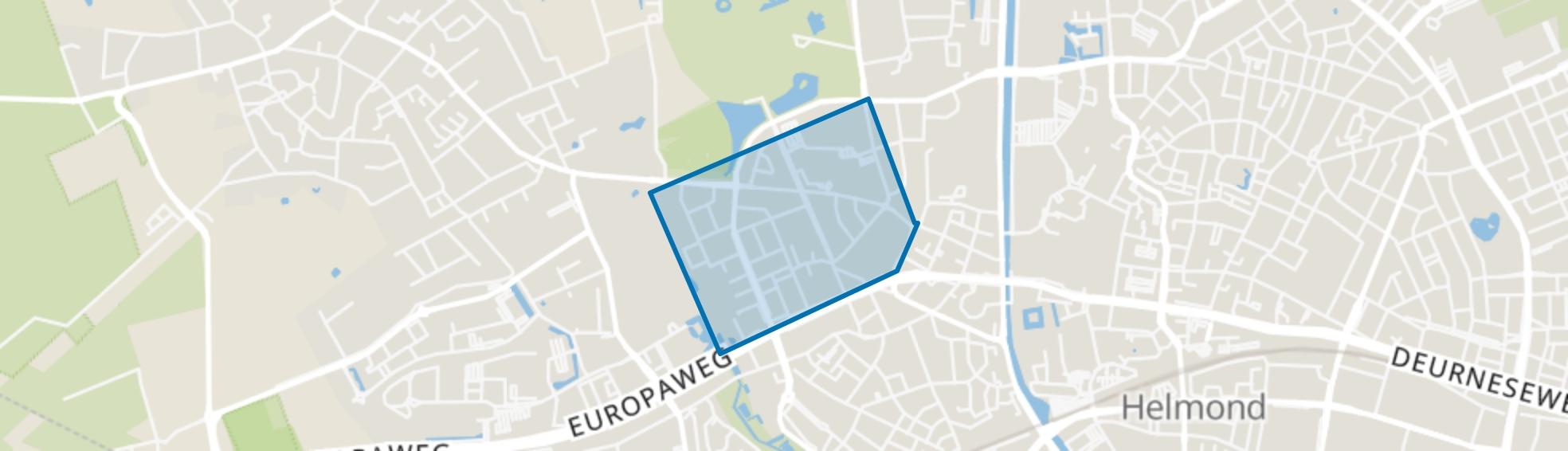 Oranjebuurt, Helmond map