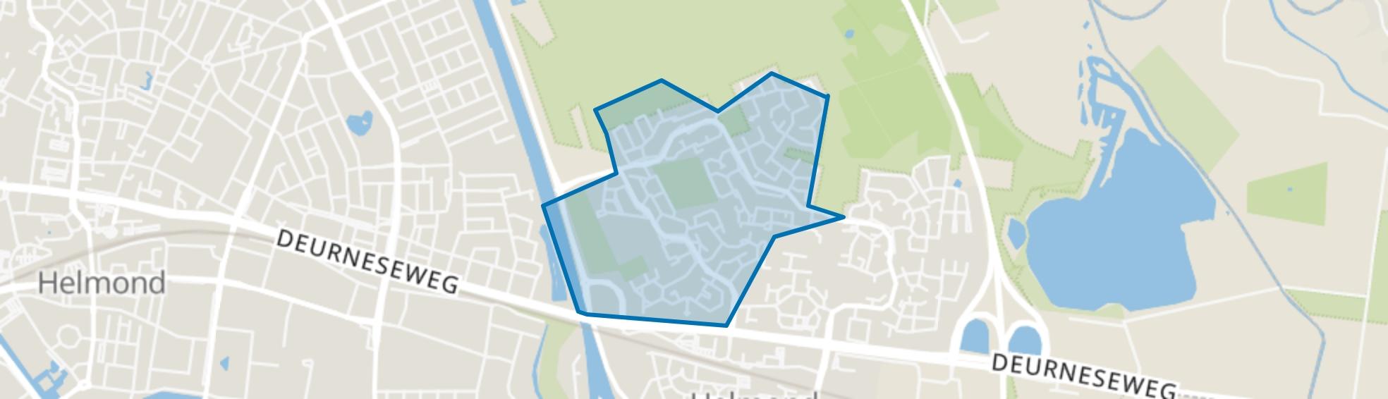 Rijpelberg-West, Helmond map