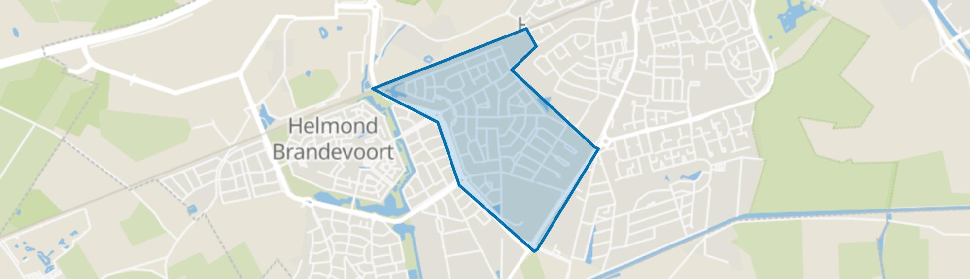 Schutsboom, Helmond map