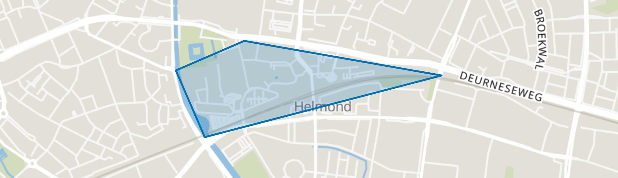 Stationsgebied, Helmond map