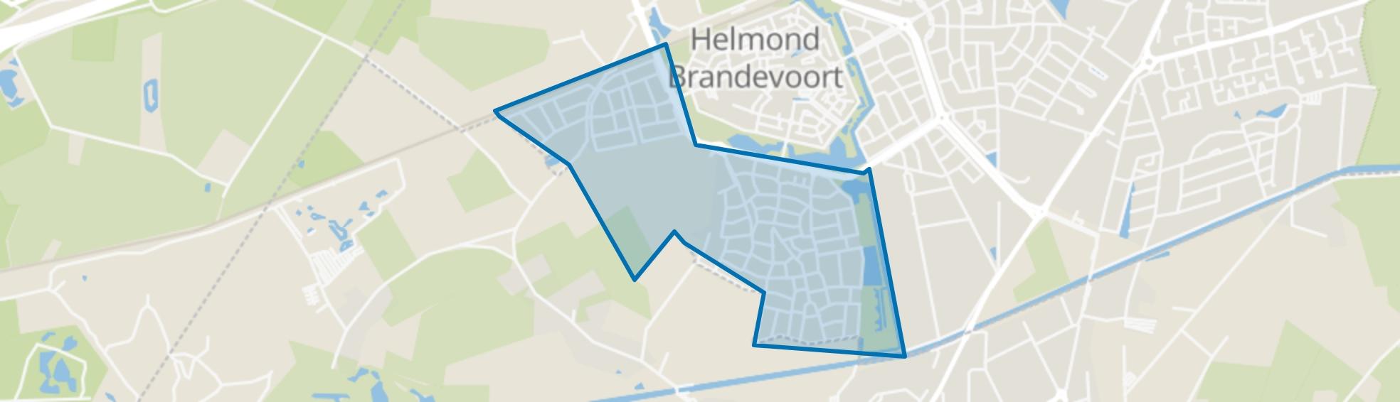 Stepekolk, Helmond map