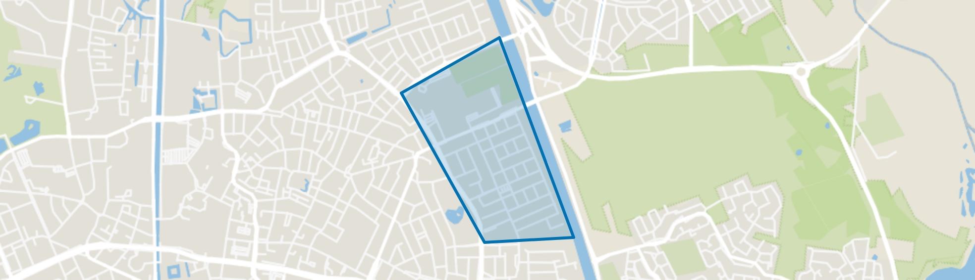 Straakven, Helmond map