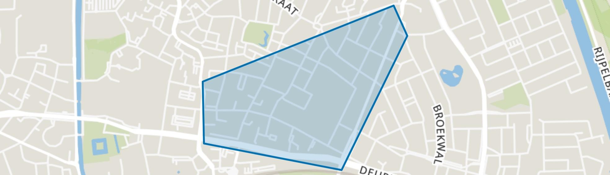 Vossenberg, Helmond map