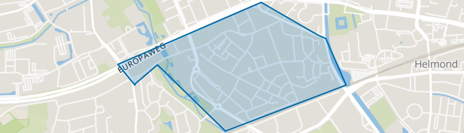 West, Helmond map