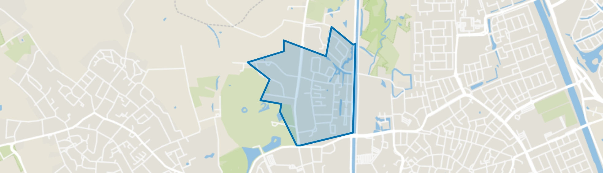 Zwanenbeemd, Helmond map