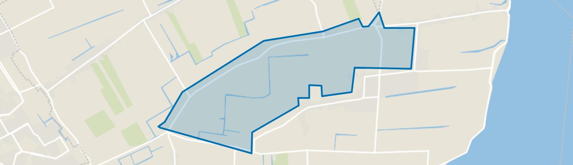 De Hout en Blokdijk, Hem map