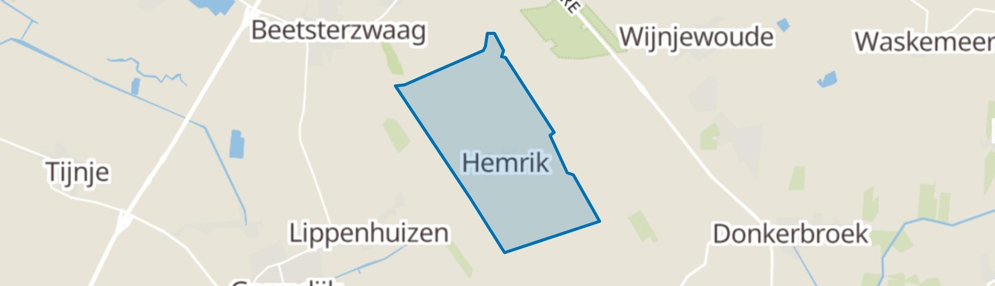 Hemrik map