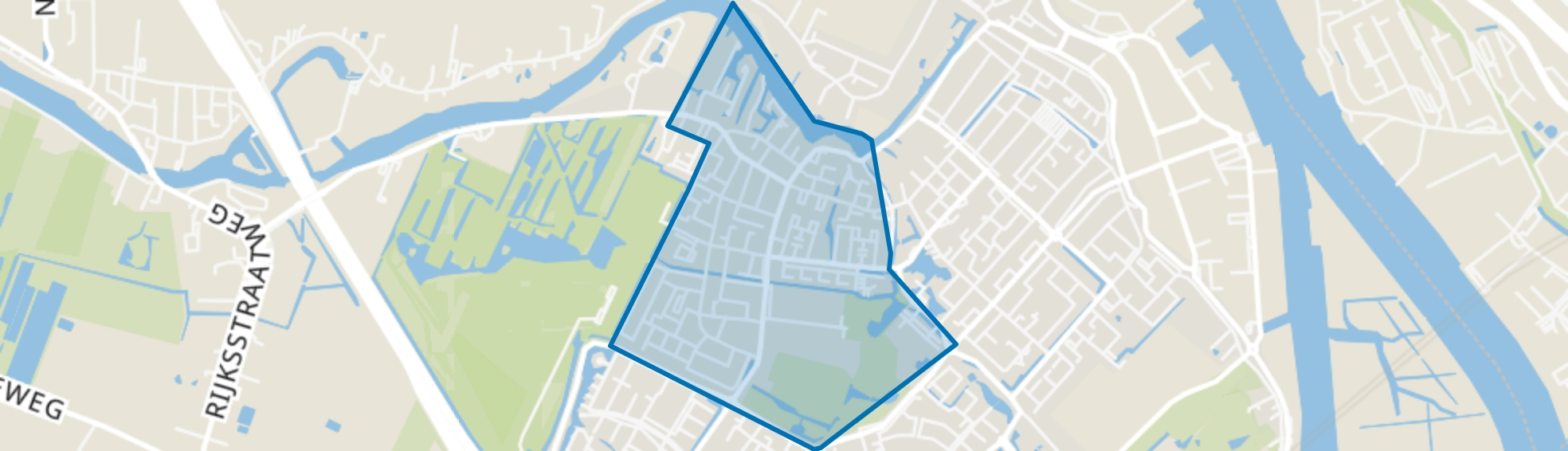 Dorp, Hendrik-Ido-Ambacht map