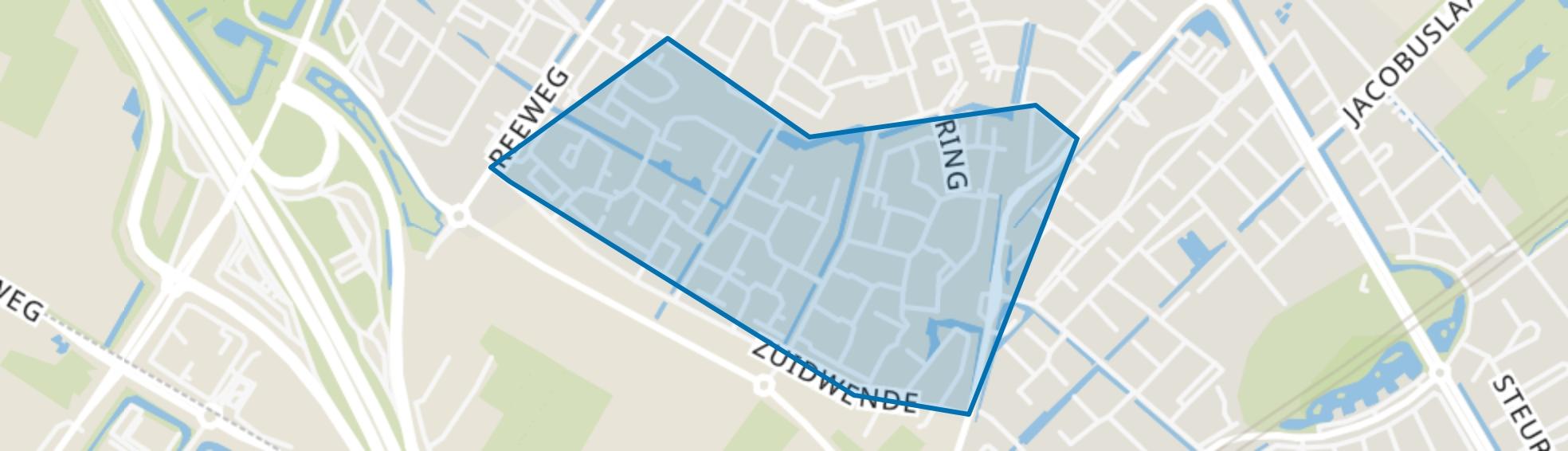 Krommeweg-Zuid, Hendrik-Ido-Ambacht map