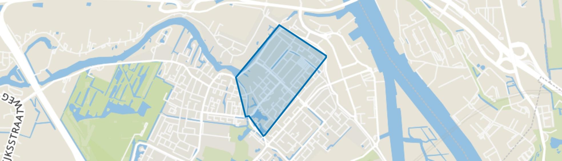 Oostendam, Hendrik-Ido-Ambacht map
