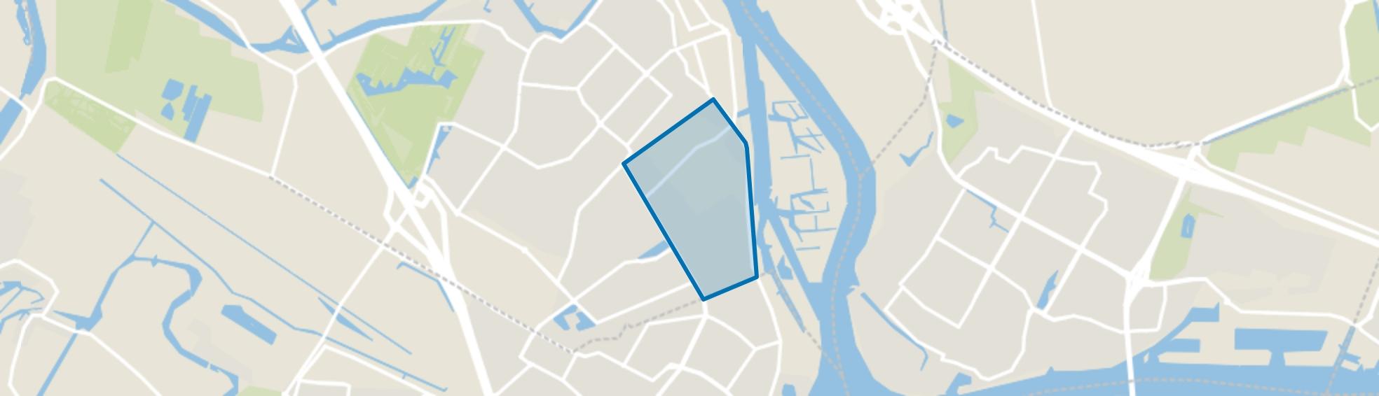 Volgerlanden-Oost, Hendrik-Ido-Ambacht map