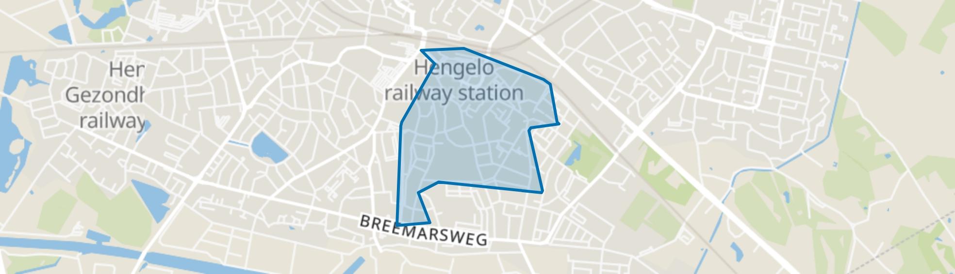 Berflo Es Noord, Hengelo (OV) map