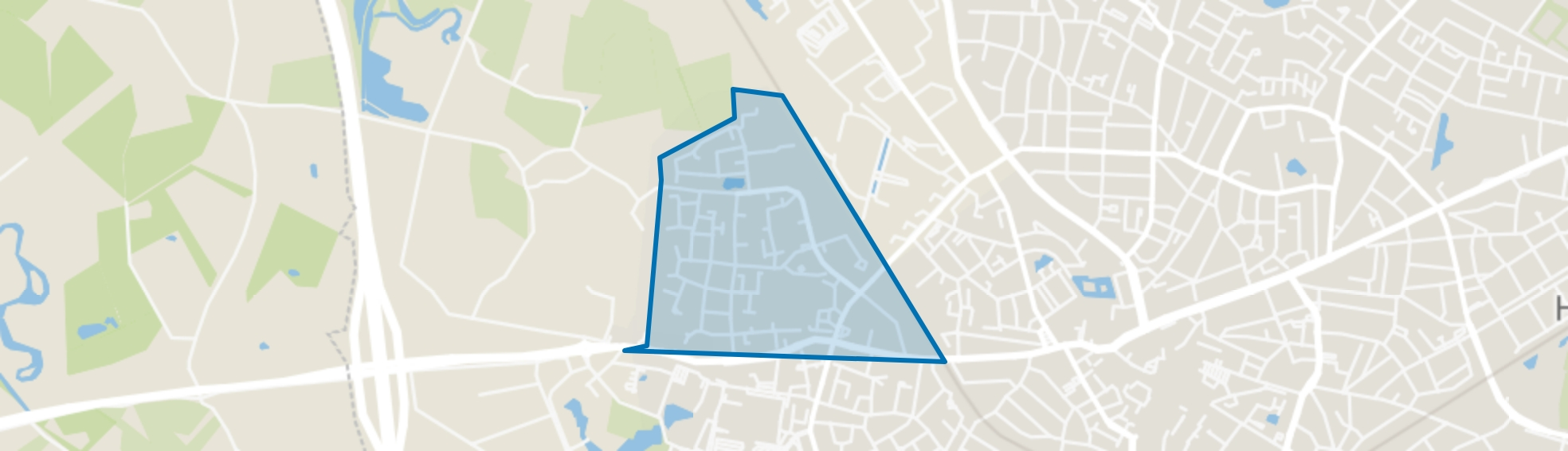 Woolder Es, Hengelo (OV) map