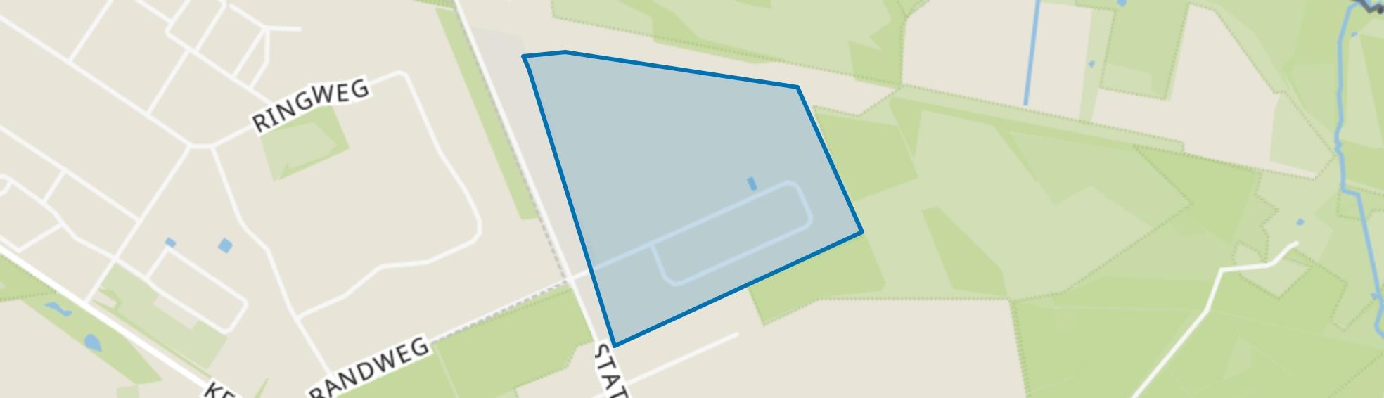 Bedrijventerrein Stationsweg, Herkenbosch map
