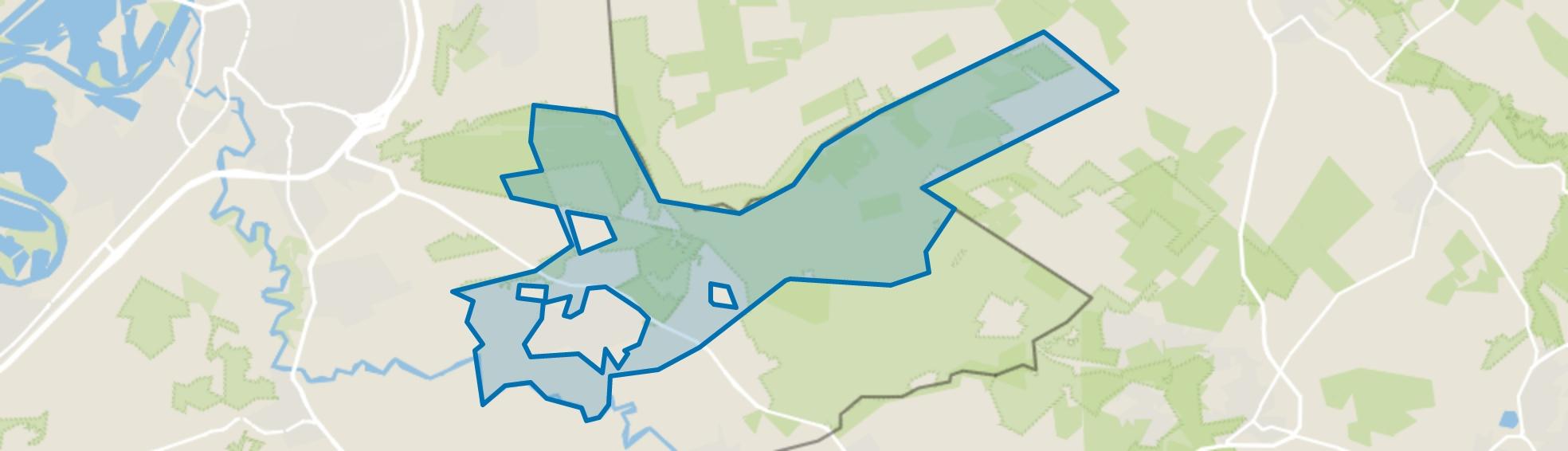 Buitengebied Herkenbosch, Herkenbosch map