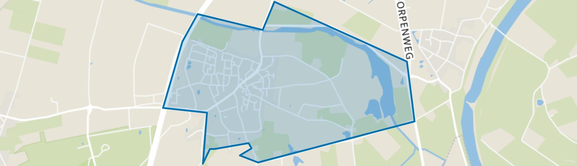 Herpen, Herpen map