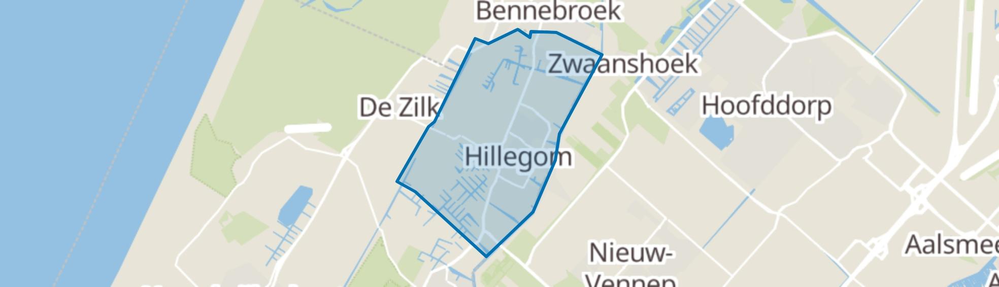 Hillegom map