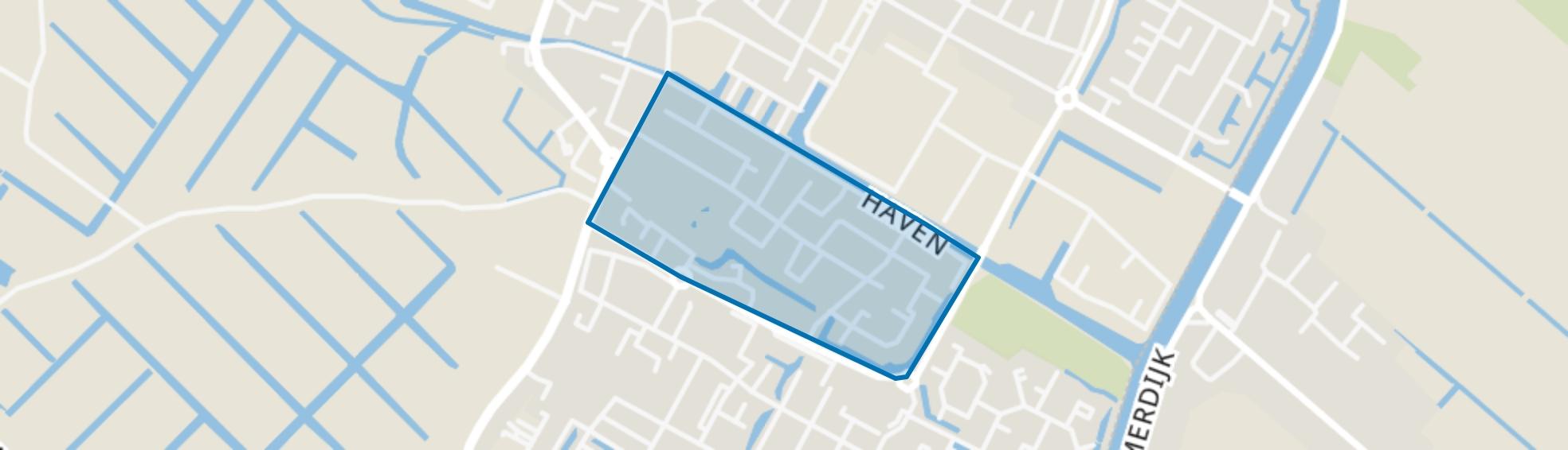 Brouwerlaankwartier, Hillegom map