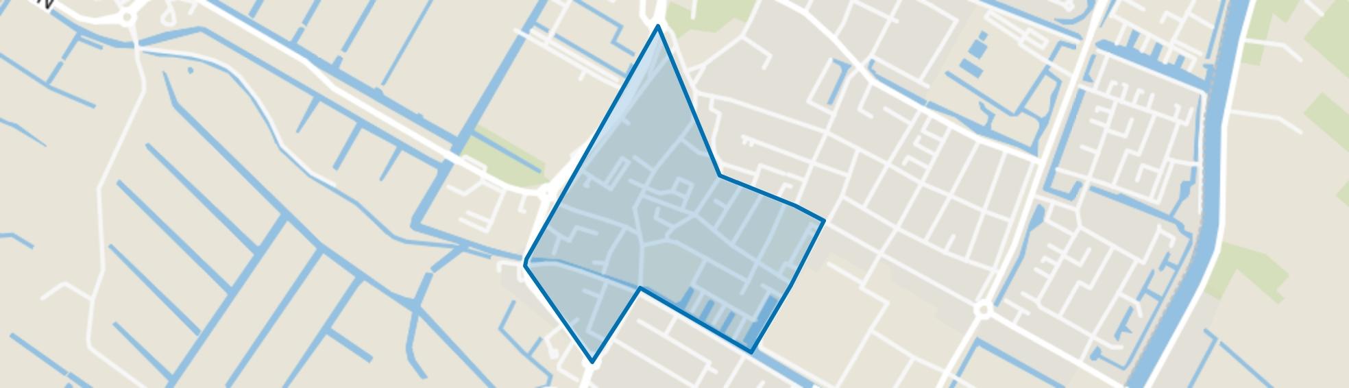 Centrum, Hillegom map