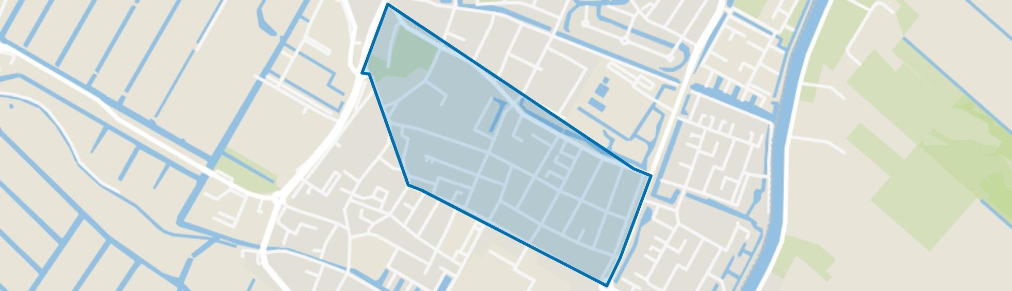 Oranjebuurt, Hillegom map