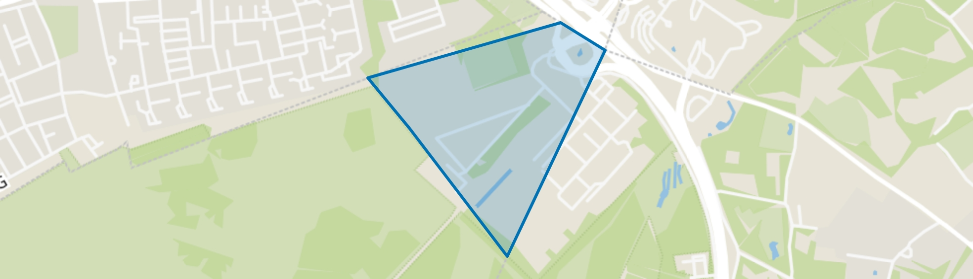 AZC Crailo, Hilversum map