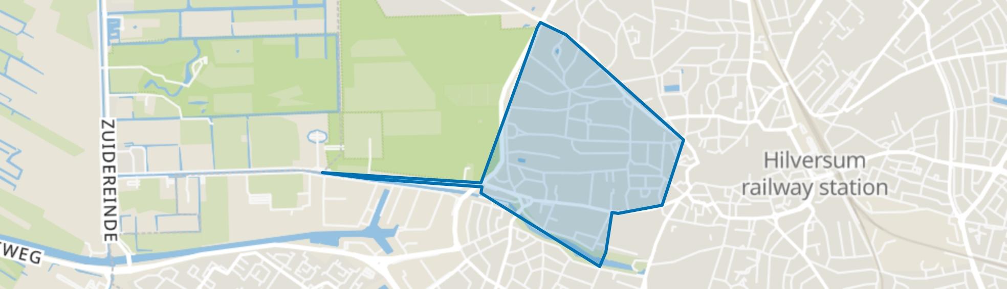 Boomberg, Hilversum map