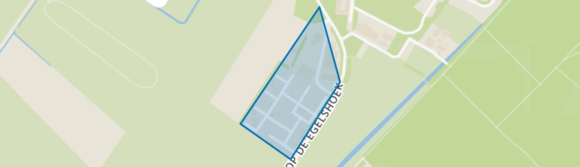 Egelshoek, Hilversum map