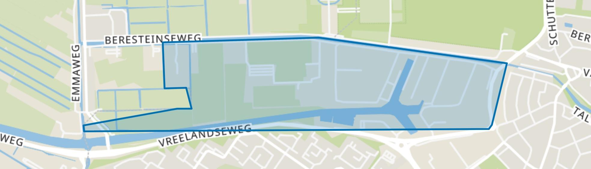 Havenkwartier, Hilversum map