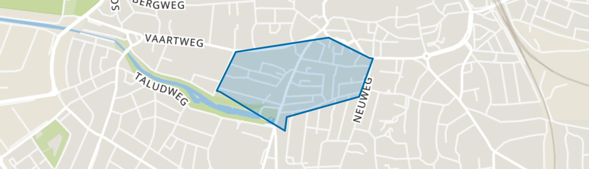 Havenstraatbuurt, Hilversum map