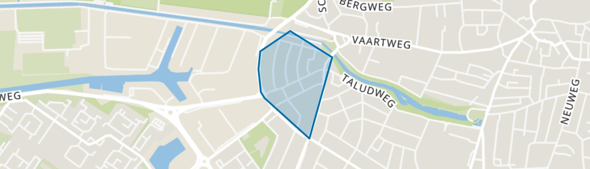 Het Rode Dorp, Hilversum map