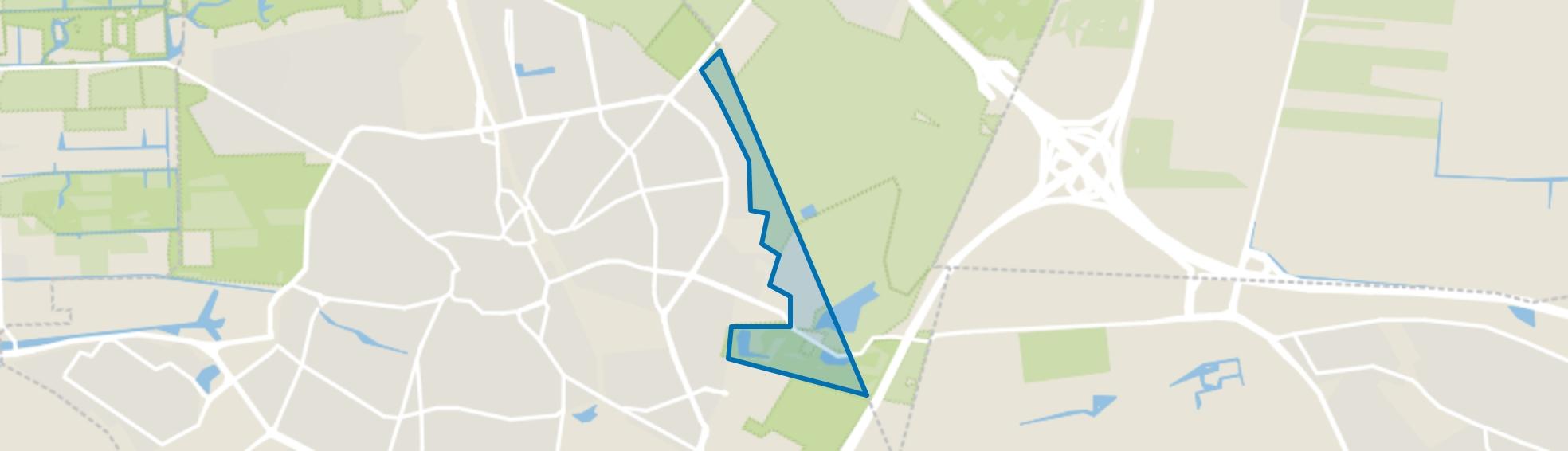 Landelijk Gebied 92, Hilversum map