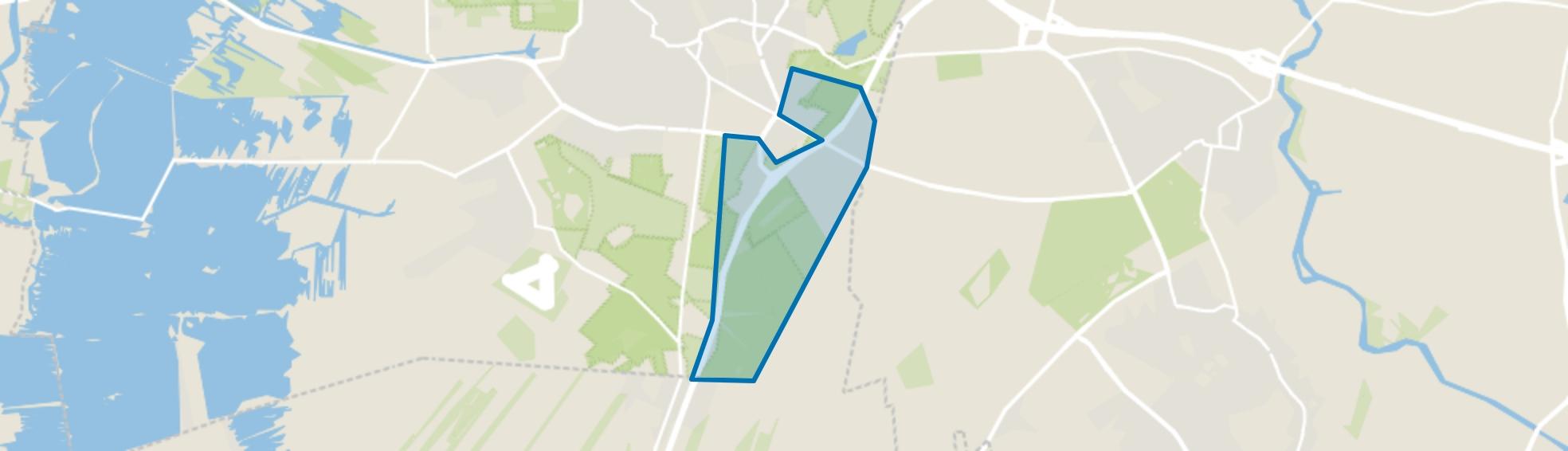 Landelijk Gebied 93, Hilversum map