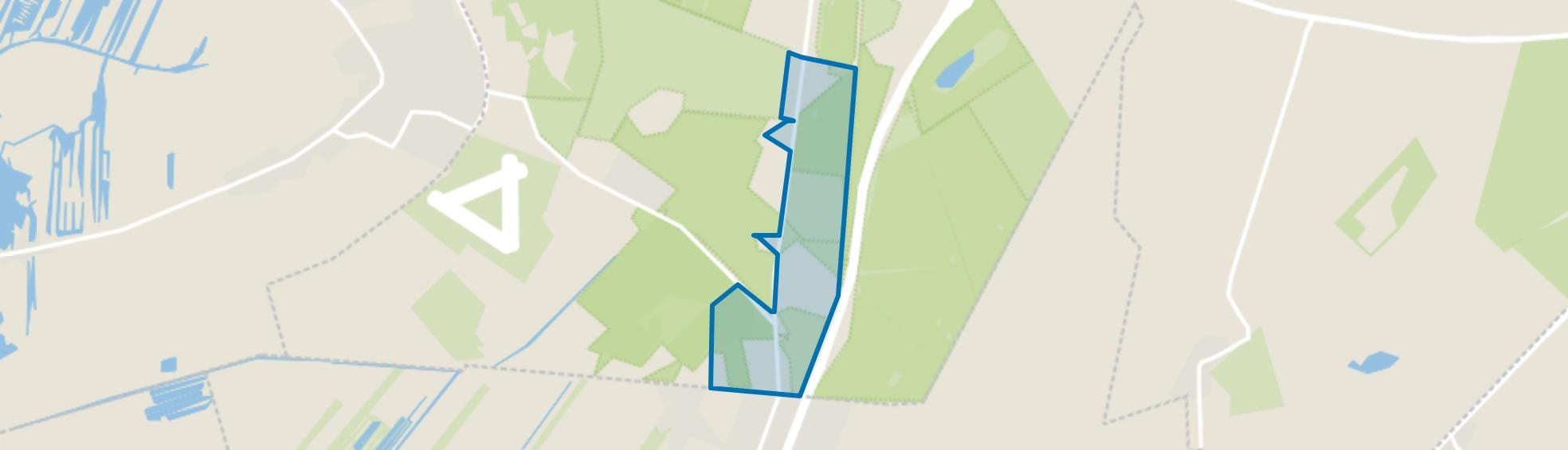 Landelijk Gebied 94, Hilversum map