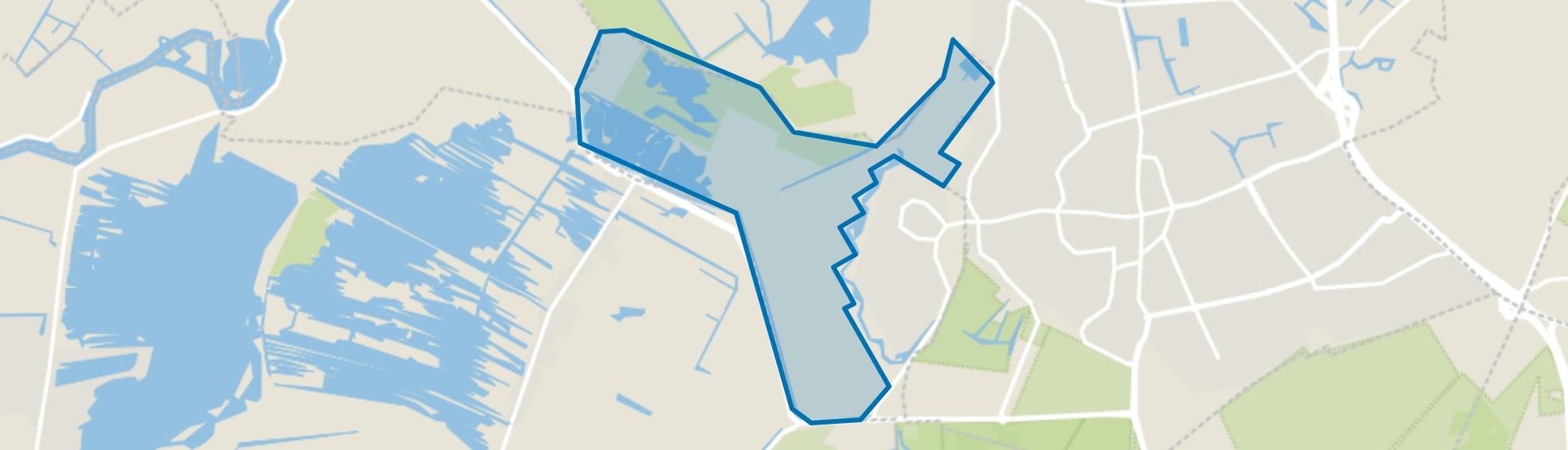 Landelijk Gebied 97, Hilversum map